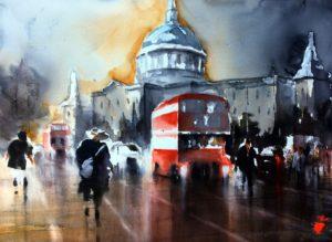 helena-trovaj-st-pauls-watercolor-60x80